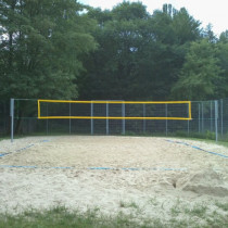 neues Material fürs Beachfeld
