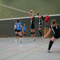 Silberregen bei den VSG- Volleyballern