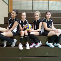 U15- Volleyballerinnen beim Hessenjugendpokal
