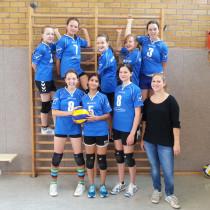 Spannende Spiele der Volleyballerinnen