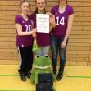 Erster Platz der U14 Volleyballerinnen bei der Qualifikation zum Hessenjugendpokal