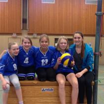 Volleykids spielen Turnier in Offenbach